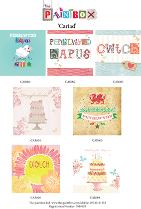 welsh cards